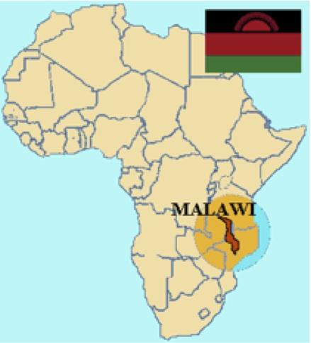 Zimbabwe Malawi Map - Malawi map